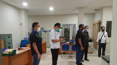 Cegah Kluster Kantor, Tim Satgas Covid-19 Tebingtinggi Kunjungi Perkantoran
