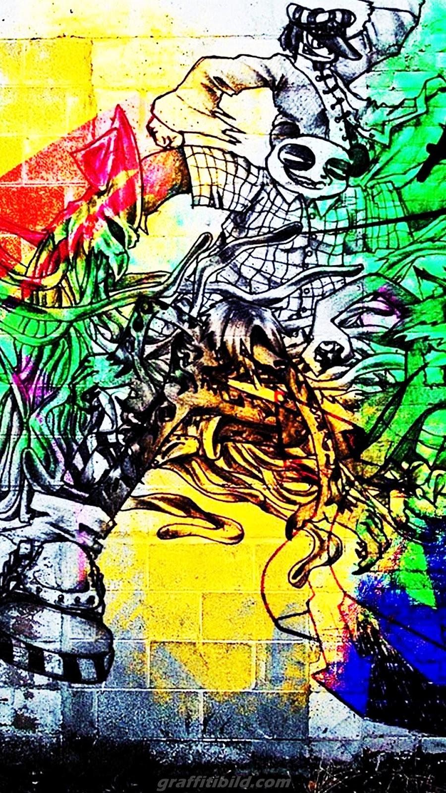 graffiti wallpaper, android, mobile, kostenlos, hd, free