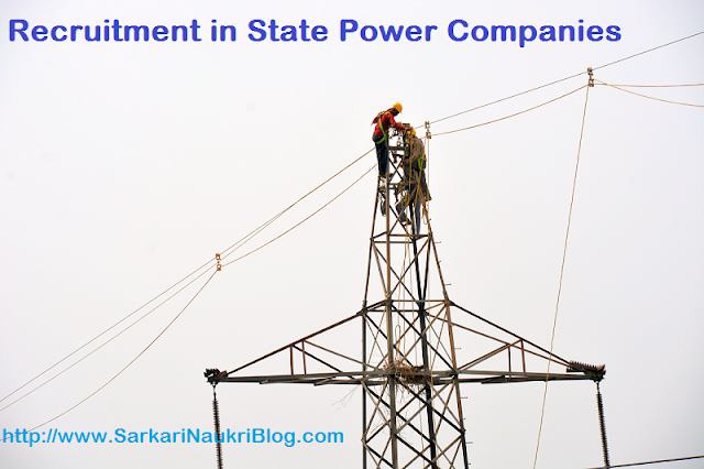Naukri Recruitment Vacancy in State Power Companies