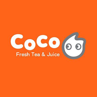 Coco milk tea logo