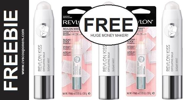 Revlon Kiss Balms Freebie CVS Deal 1-17-1-23