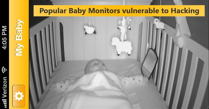Caution! Hackers Can Easily Hijack Popular Baby Monitors to Watch Your Kids