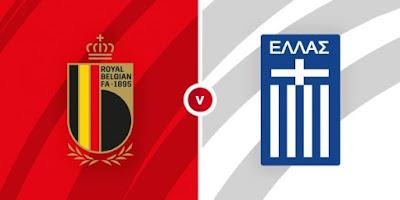 مشاهدة مباراة بلجيكا ضد اليونان 3 - 6 -2021 بث مباشر في مباراة ودية
