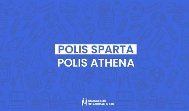 Perbedaan dan Kesamaan Polis Sparta dan Polis Athena
