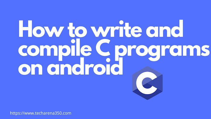 How to write and compile C programs on Android offline