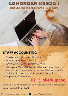 Lowongan Kerja Nirwana Pasaraya Ruteng Sebagai Staff Accounting