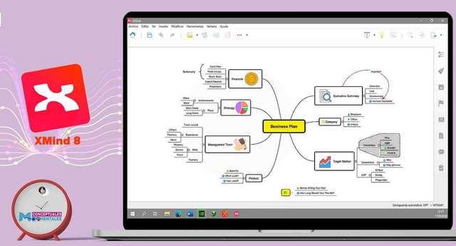 Xmind 8 Programa para hacer mapas mentales