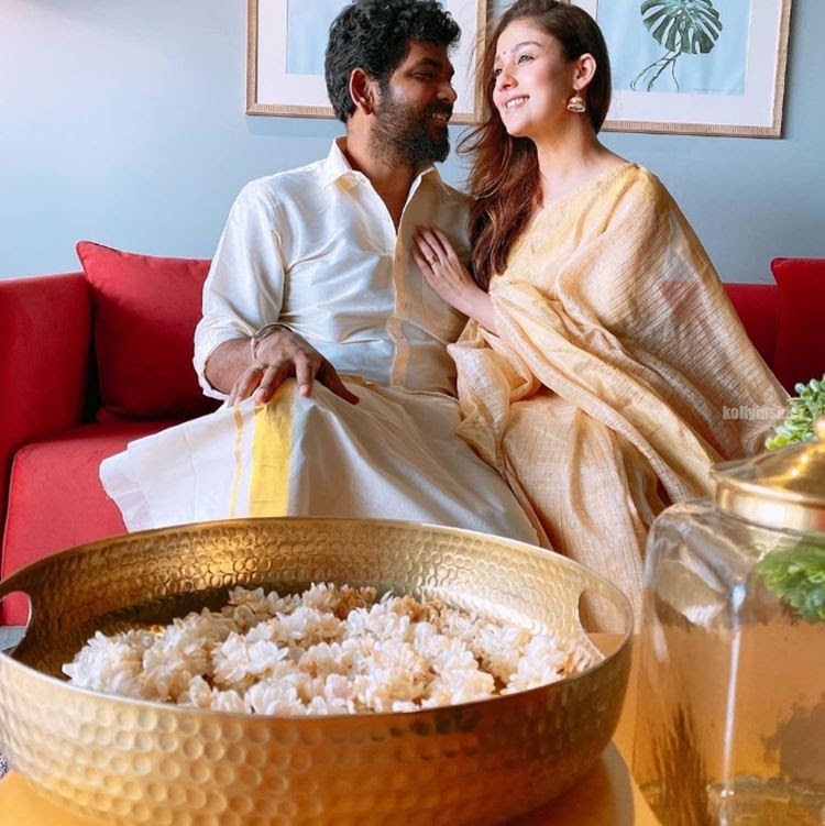 Nayanthara and Vignesh Shivan Onam