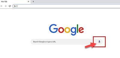 تفعيل البحث الصوتي على متصفح Google Chrome