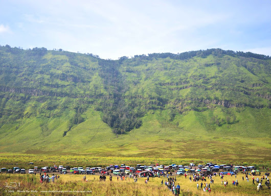 Green Side of Bromo
