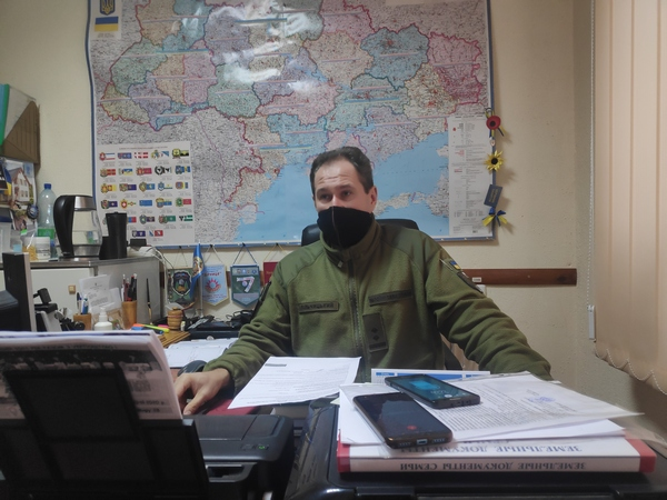 речник Чернігівського обласного ТЦК Вадим Лільчицький