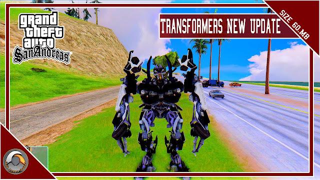 GTA San Andreas Transformers Mod New Update