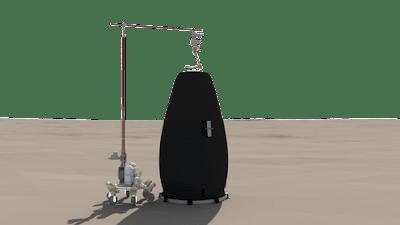 impressão 3D Marte