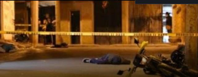 Imágenes del terror; Una nueva masacre en Salvatierra, Guanajuato Sicarios entraron a taller de motos y en segundos ejecutaron a 7 personas