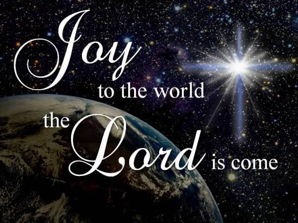 Yeshua (Jesus) is Lord: JOY to the World