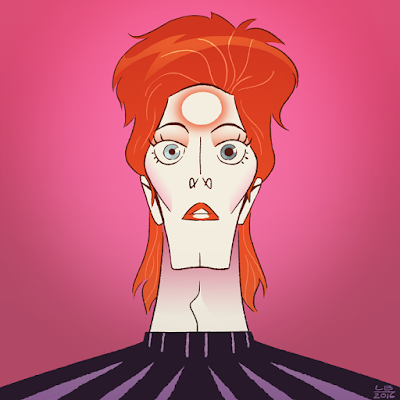 Louise Bagnall -art blog-: Beautiful Bowie