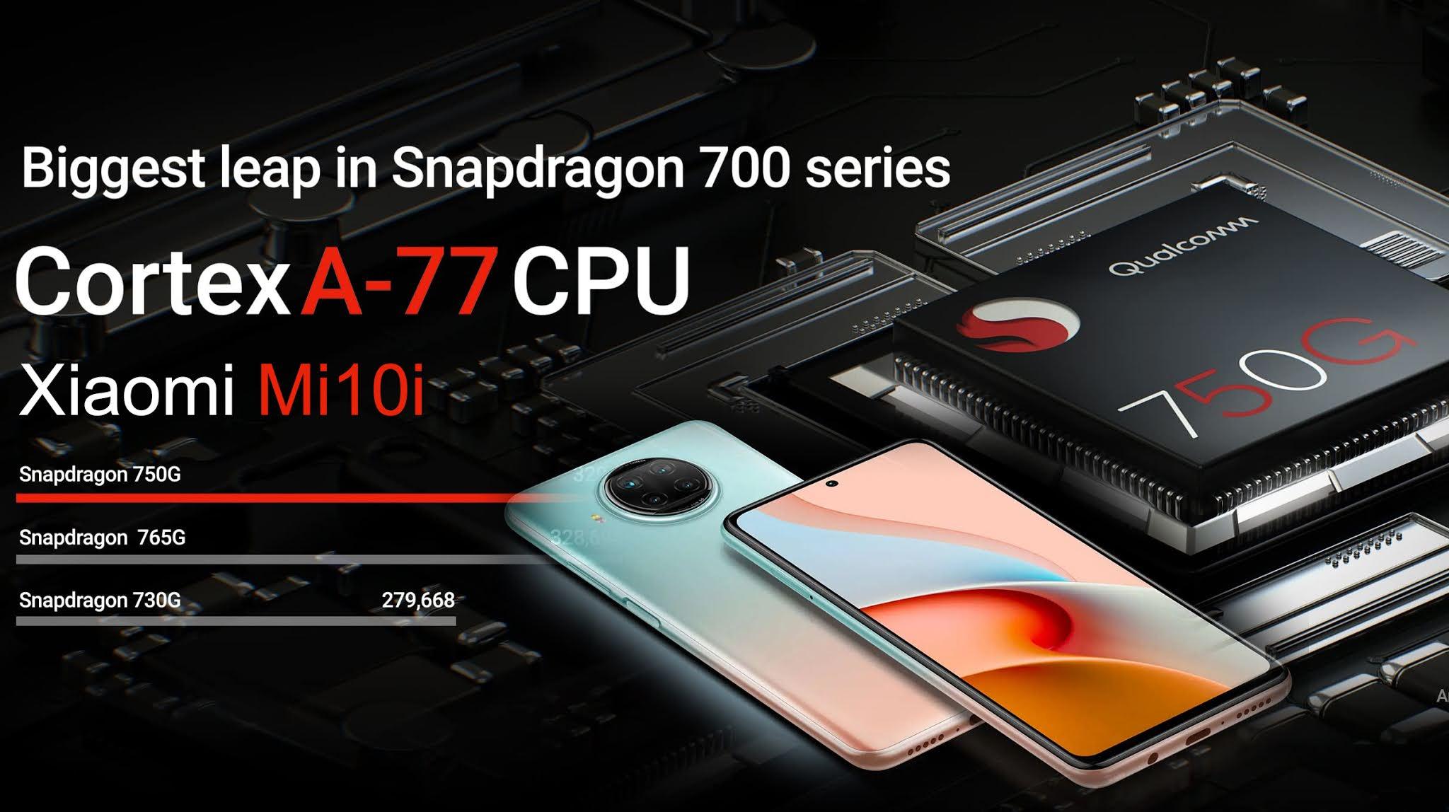 Xiaomi Mi 10i 5G compatible smartphone in India