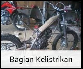 Bagian kelistrikan pada sepeda motor