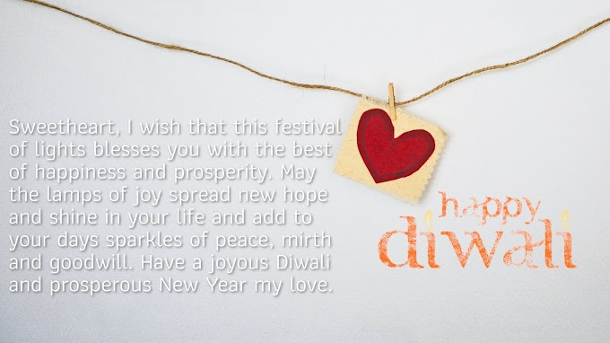 happy Diwali Wishes For Boyfriend and Husband 2021