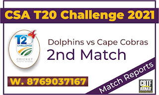 DOL vs COB 2nd CSA T20 Today Match Prediction 100% Sure Winner