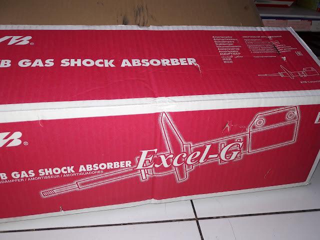 Harga Shockbreaker KYB untuk Honda Jazz