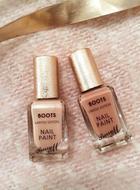 Boots Limited Edition Barry M Nail Polishes & Lee Stafford Coconut Hairspray