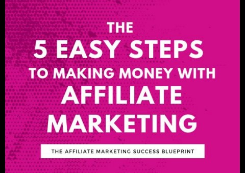 5 Easy step to make money online with affiliate marketing