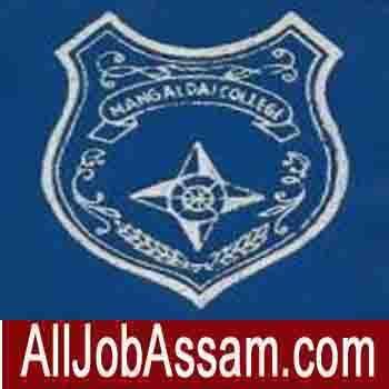 Mangaldai College Recruitment 2020