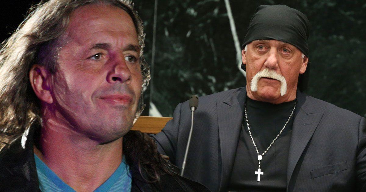 "Bret Hart revela sua ""nota"" para Hulk Hogan"