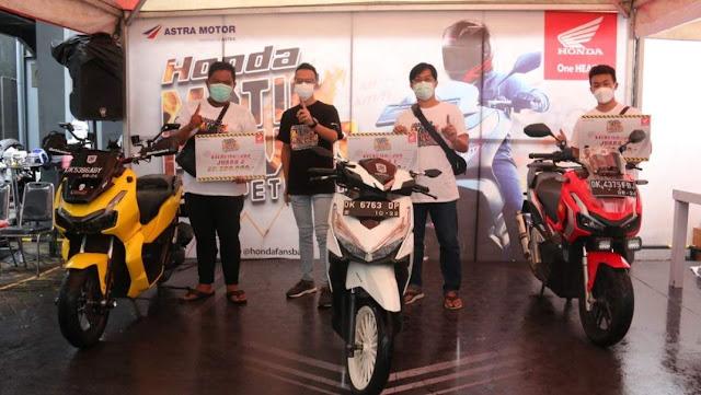 Juara Honda Matic Power Competition kelas 150-200cc