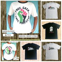 Jual Kaos Palestina