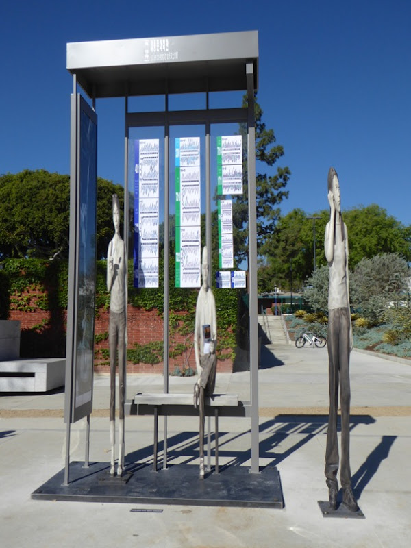 Yi Hwan-Kwon Bus Stop sculpture installation