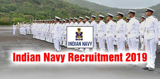 Indian Navy Officers Recruitment 2019