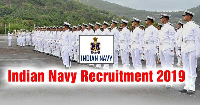 Image result for Indian Navy Recruitment for 121 Executive, Technical & Education Branch Post 2019