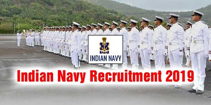 Indian Navy Recruitment 2019: 2700 Vacancies for Sailor Posts, Apply  now