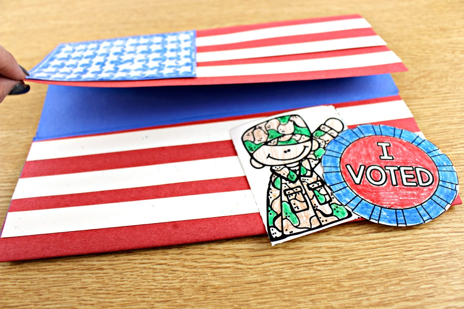 America The Brave Election Day And Veterans Day