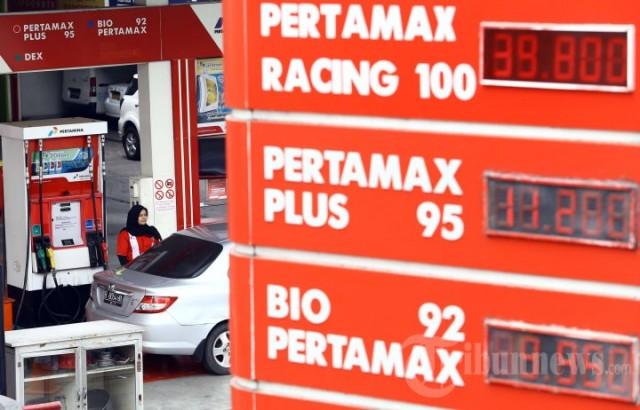 Harga BBM Pertamax Turun Rp 200 per Liter