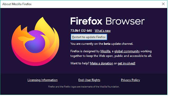 Cara Update atau Perbarui Mozilla Firefox