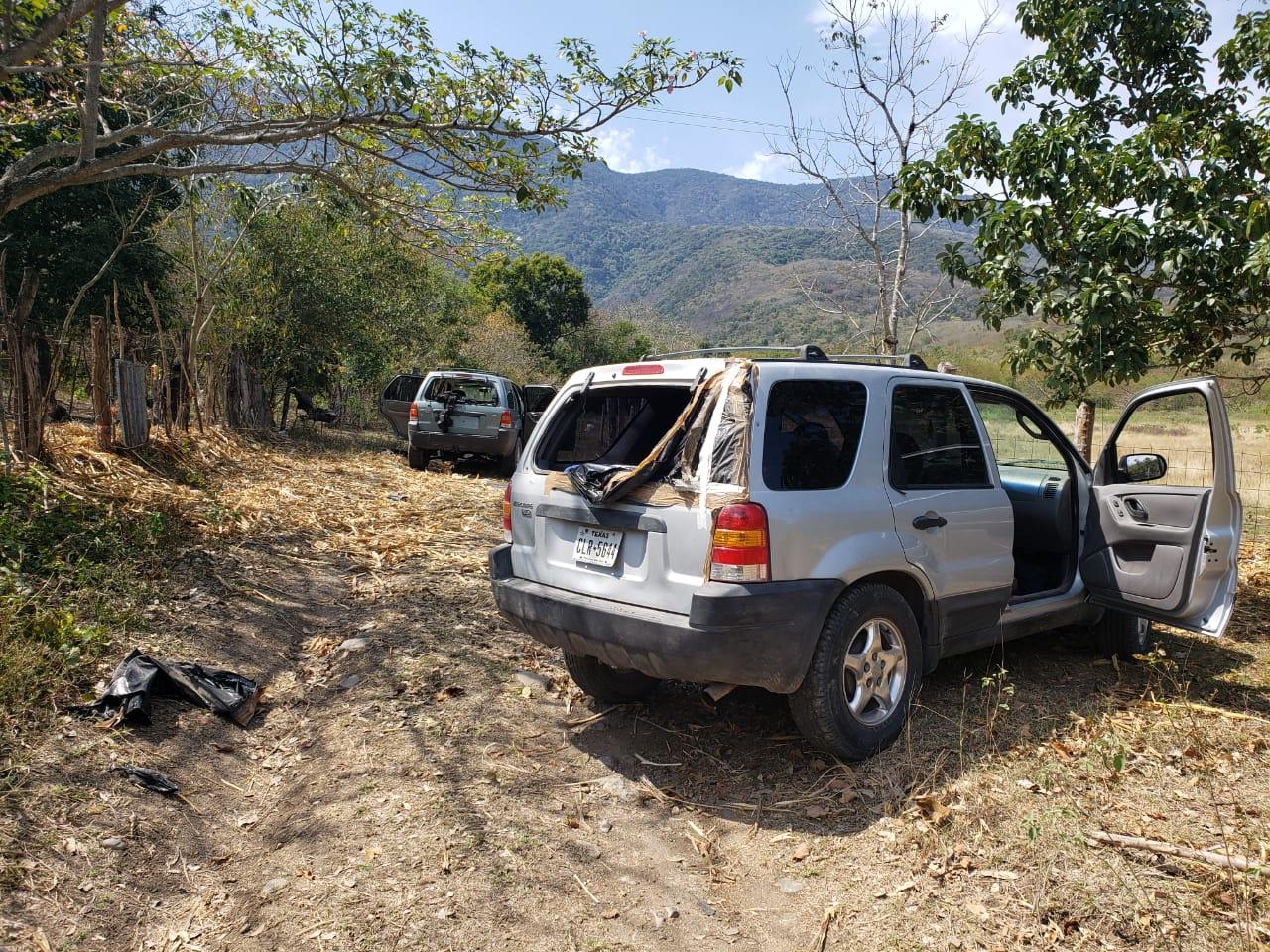 Sicarios del CDN atacan a Guardia Nacional pero terminan huyendo; les decomisan trocas y armas