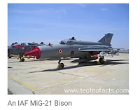 MiG-21 Bison Abhinandan Vardhaman air craft