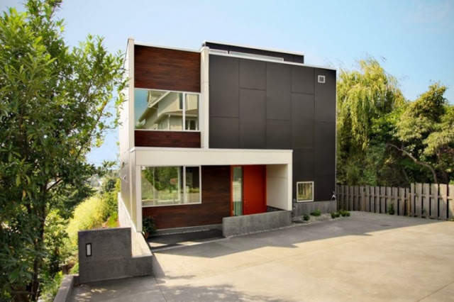 23 modern House Front design ideas for 1&2 story buildings!