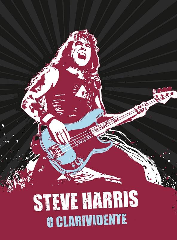 Steve Harris: livro sobre o líder e fundador do Iron Maiden é lançado no Brasil