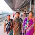 महिला कांग्रेस नेत्री स्थापना दिवस में भाग लेने के लिए दिल्ली रवाना।