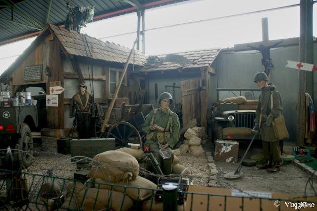 Una delle scene riprodotte nel Museo de l'Abri di Hatten