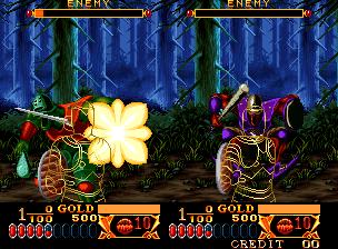 Crossed Sword arcade videojuego descargar gratis