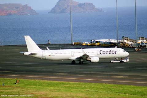 A321 - D-ATCG - CONDOR - ILHA DA MADEIRA - LPMA