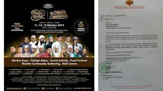 Muslim United Izin Pakai Masjid di Jogja, Viral Surat Penolakan Keraton