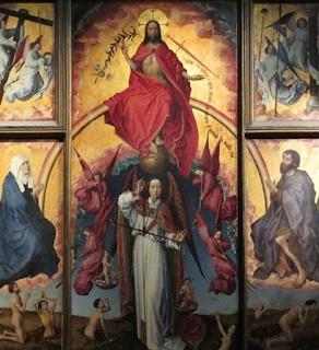 Retable du jugement dernier aux hospices de Beaune (Rogier van Weyden)