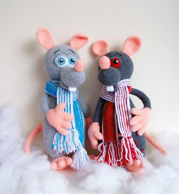 -crochetnakedrats -amigurumi -animals -rat -boy -ratswithballs softtoy #crochetrat #crochet #amigurumitoy #amigurumi #balls #boy #naked #nudist #handmade #mouse #handmadetoy