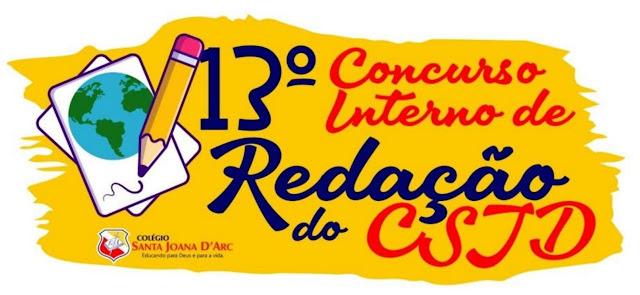 CSJD promove 13º Concurso Interno de Redação com os segmentos Ensino fundamental I e II